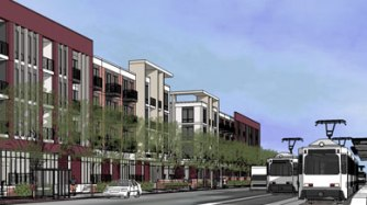 Hamline Village development in St. Paul