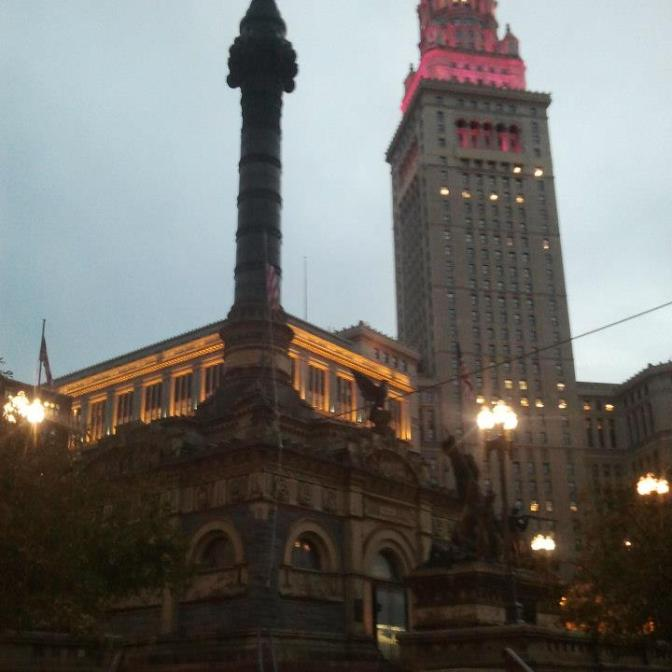 Soldiers and Sailors Monument and Terminal Tower