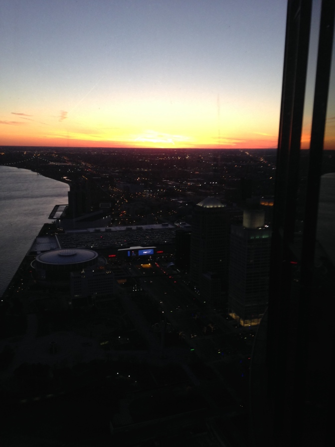 Sunset from the 73rd Floor