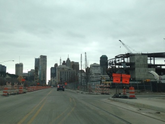 New Red Wings Arena rising