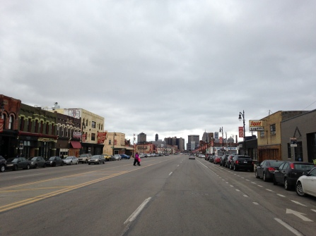Is Michigan Ave wide enough?